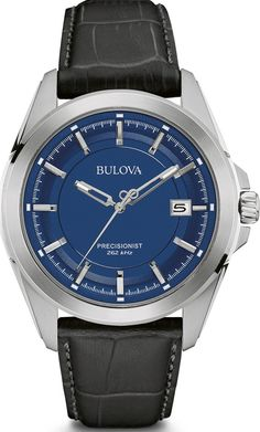 @bulova Watch UHF Precisionist #add-content #bezel-fixed #bracelet-strap-leather #brand-bulova #case-depth-10-5mm #case-material-steel #case-width-43mm #date-yes #delivery-timescale-1-2-weeks #dial-colour-blue #fashion #gender-mens #movement-quartz-battery #new-product-yes #official-stockist-for-bulova-watches #packaging-bulova-watch-packaging #style-dress #subcat-precisionist #supplier-model-no-96b257 #warranty-bulova-official-3-year-guarantee #water-resistant-100m