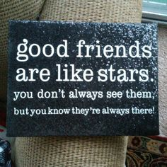 Best Friend Canvas I am selling my adorable quote canvas. The quote is so cute, and the canvas is all glittery black representing the night sky! It is a perfect gift to give to your best friend, or anyone! I love it. Thank you for looking!???? Claire's Other