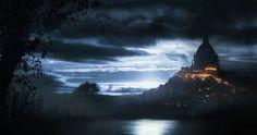 Across the Lake by *jordangrimmer on deviantART