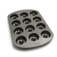 Wilton® Standard Doughnut Pan | Sur La Table $10.95 and the cider donut mix on this page.