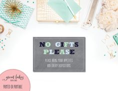 No gifts please good wording options party pinterest gift no gifts please boys first birthday invitation insert oh what fun look whos one 1st b day blue and green chalkboard instant download by stopboris Images