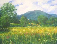 "Original Acrylic Painting ""Vermont Summer"""