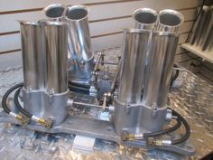 Hilborn 8 STACK  Olds 49-59 303 , 324, 371, 394 --- MoPar Wedge Engines too  GAS