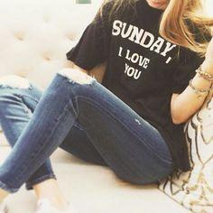 Sunday, I love you