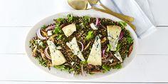 Warm Wild Mushroom and Lentil Salad  - Delish.com