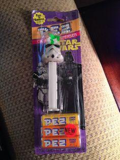 Star Wars PEZ Dispenser:  Storm Trooper