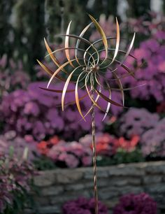 Kinetic Garden Sculpture  --acornonline.com--