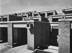 Student Residence Complex, Antananarivo, Madagascar, 1963-65 (Roland Simounet)