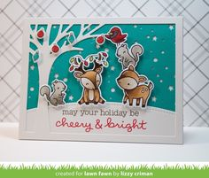 cheery christmas | Lawn Fawn