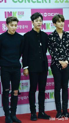 Jongup. Daehyun, Youngjae