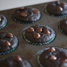 skinny chocolate muffins