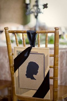DIY Silhouette Chair Sign