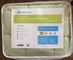 I recently tested the Nacreous mattress pad, a product that guarantees to help someone who sleeps hot, sleep cooler. Does it live up to its promise?
