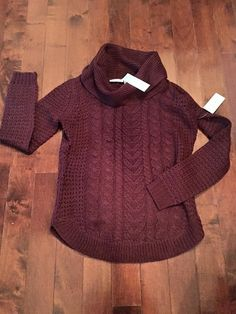 Ideas - Love the color and cable knit design of this RD Style Kara Cowl Neck Sweater. #StitchFix