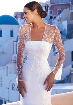2015 Wedding Dresses and Trends: Wedding Dresses with Soft Sleeves from Spring 2012 Bridal Fashion Week