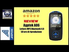 AMAZON RECENSIONE : Agptek A06 Lettore MP3 Bluetooth 4.0 multifunzione -  Best sound on Amazon: http://www.amazon.com/dp/B015MQEF2K - http://gadgets.tronnixx.com/uncategorized/amazon-recensione-agptek-a06-lettore-mp3-bluetooth-4-0-multifunzione/