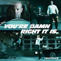 Furious 7 every time  I watch this movie I see that Dom's car didn't have one scratch on it
