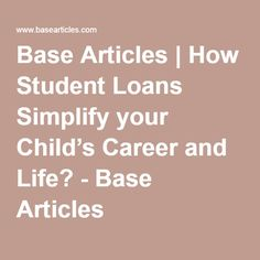 Loan for Student UK