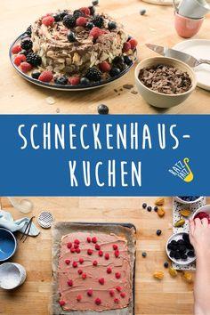 Für den nächsten Kaffeeklatsch oder zur nächsten Geburtstagsparty: Unser Schneckenhauskuchen ist die perfekte Überraschung. Bread, Foodblogger, Desserts, Coffee Meeting, Cacao Powder, Snails, Raspberries, Food Food, Kuchen