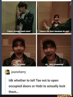 Who's in the wrong here???  Taehyung or J-Hope???