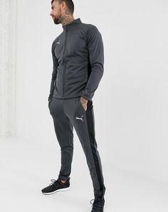 Puma NXT Poly TrackSuit in Gray  7df5f13b9a7