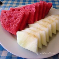 Somos de #sandia o de #melón? En mi casa estamos al 50% 2 sandia...