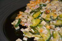 gratin courgettes crozets *Testé et approuvé* Oven Dishes, Pasta, One Pot, Light Recipes, Asparagus, Zucchini, Dinner Recipes, Nutrition, Meals