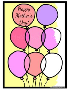 mothers day coloring page fill in the names of everyone in the family into the