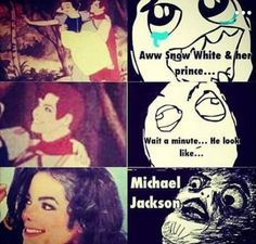 OMG! So Michael was always the prince in Snow White. Well, that explains at least why the prince is so kindhearted, sweet, humble and kind! <3