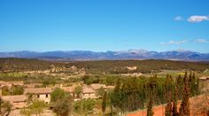 Una de nuestras vistas. #Mallorca (Balearic Islands, Spain). Enjoy your stay in #Mallorca in our charming hotel, a typical Catalonian country house, at the foot of the Puig de Randa. http://www.esrecoderanda.com/