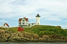 Summer Afternoon at Nubble Light