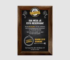 Convite Personalizado para Festa Boteco de 70 anos - Maysa Crowder