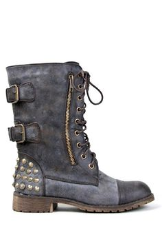 Black Women Combat Boots