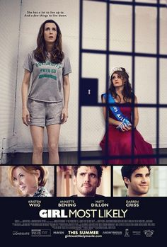 Girl Most Likely (2012) About as strange as Kristin Wiig with a pretty great ending.