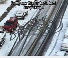 Parking is hard lol Top Funny, Funny Cute, Really Funny, Hilarious, Stupid Funny Memes, Funny Relatable Memes, Funny Posts, Funny Fails, Funny Tweets