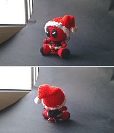 amigurumi Deadpool