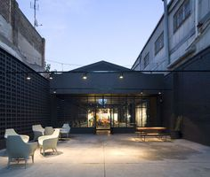 Former Industrial Warehouse Turned Into Design Gallery in Barcelona