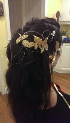 Labyrinth hair piece...this is how you do