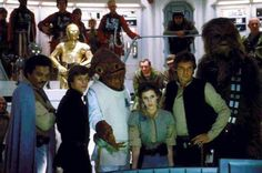 Princess Leia Organa with her companions at the Rebel Alliance briefing on Home One