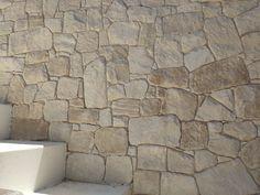 Australian white sandstone walling - Ideal for Interior & exterior wall design Stone Cladding Exterior, Sandstone Cladding, Sandstone Wall, Exterior Wall Design, Interior And Exterior, Interior Design, Stone Feature Wall, Stone Chimney, Natural Stone Wall