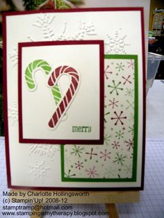 Candy Cane Convention Swap CASE
