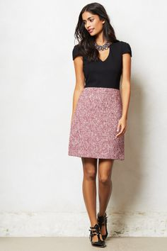 Vittoria Tweed Dress - anthropologie.com - $298.00