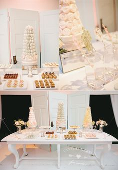 Towers and Sweets by Cake Opera Co. / Styling by Cynthia Martyn Fine Events