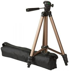 Adjustable-height tripod made of lightweight aluminum; weighs just over a pound head allows for tilt and swivel motion; portrait or landscape options Quick-release plate helps ensure fast transitions between shots Phone Tripod, Camera Tripod, Photo Accessories, Camera Accessories, Photography Accessories, Mobile Accessories, Gopro, Still Camera, Mobile Holder