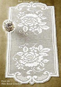 crochet - caminhos de mesa -runners - Raissa Tavares - Webové albumy programu Picasa