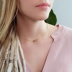 Love Necklace, Arrow Necklace, Everyday Necklace, Gold Chains, Chokers, Trending Outfits, Unique Jewelry, Etsy, Vintage