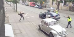 Polish Police Shoot Man Down In Street, Sparking Controversy (VIDEO via Huffington Post)
