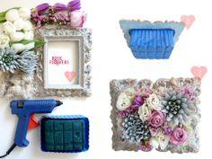 flower frame DIY
