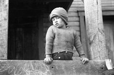 Coal miner's son, Kempton, West Virginia; photographed by John Vachon in May 1939. (Eyes of the Great Depression 088)