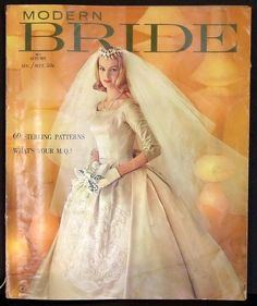 Modern Bride Autumn 1960